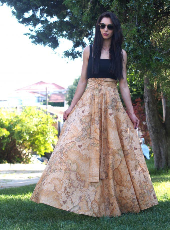 Long Maxi Skirt,Women maxi Skirt,Extravagant long maxi skirt,Long summer skirt,Plus size skirt,Maxi skirts women