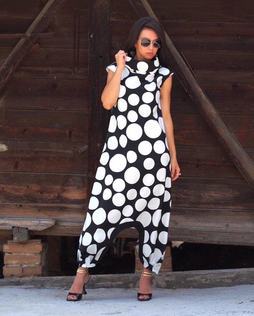 Long Maxi Polcadot dress,Women maxi polcadot dress,Plus size dress,Long maxi dress,Polcadot dress,Women maxi dress,Long Maxi dress women