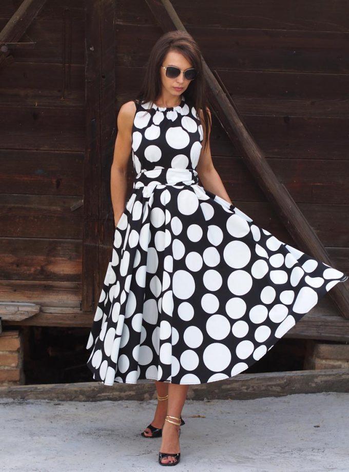 Women maxi dress,Summer maxi dress,Maxi dress women,Extravagant summer maxi dress,Avant garde women dress,Polcadot women dress