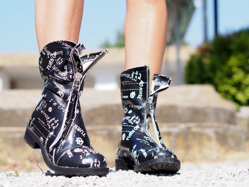 Women genuine leather boots/Black genuine leather boots/woman leather boots/black winter boots/leather boots women