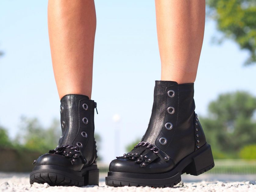 Black genuine leather boots, woman genuine leather boots, Extravagant leather boots, woman casual boots,Leather boots for women