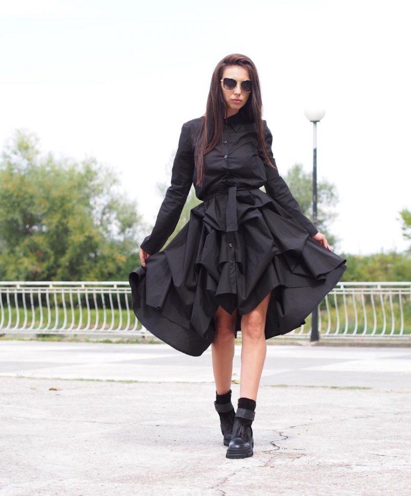 Women maxi dress,Long maxi dress,Black maxi dress,Extravagant maxi dress,asymmetric dress,plus size dress,Long sleeve dress,Maxi dress women