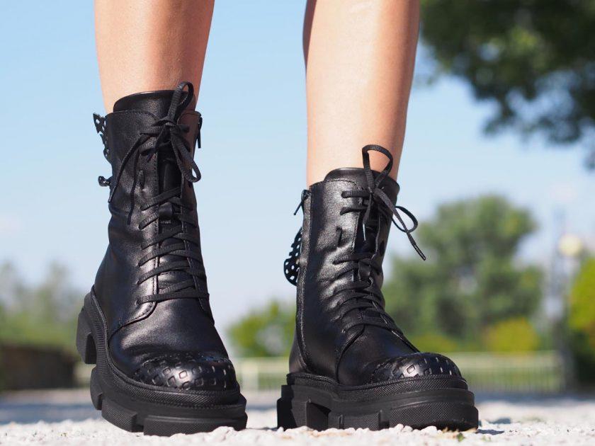 Black genuine leather Boots,Women genuine leather bots,Extravagant leather boots,Women leather boots